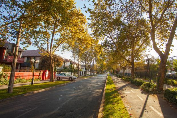 Santiago, Chile. Italia