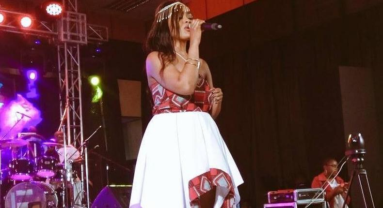 Popular artist Avril gave a stellar performance at the ONGEA! 2017 Music Summit held at the Sarit Centre, Nairobi