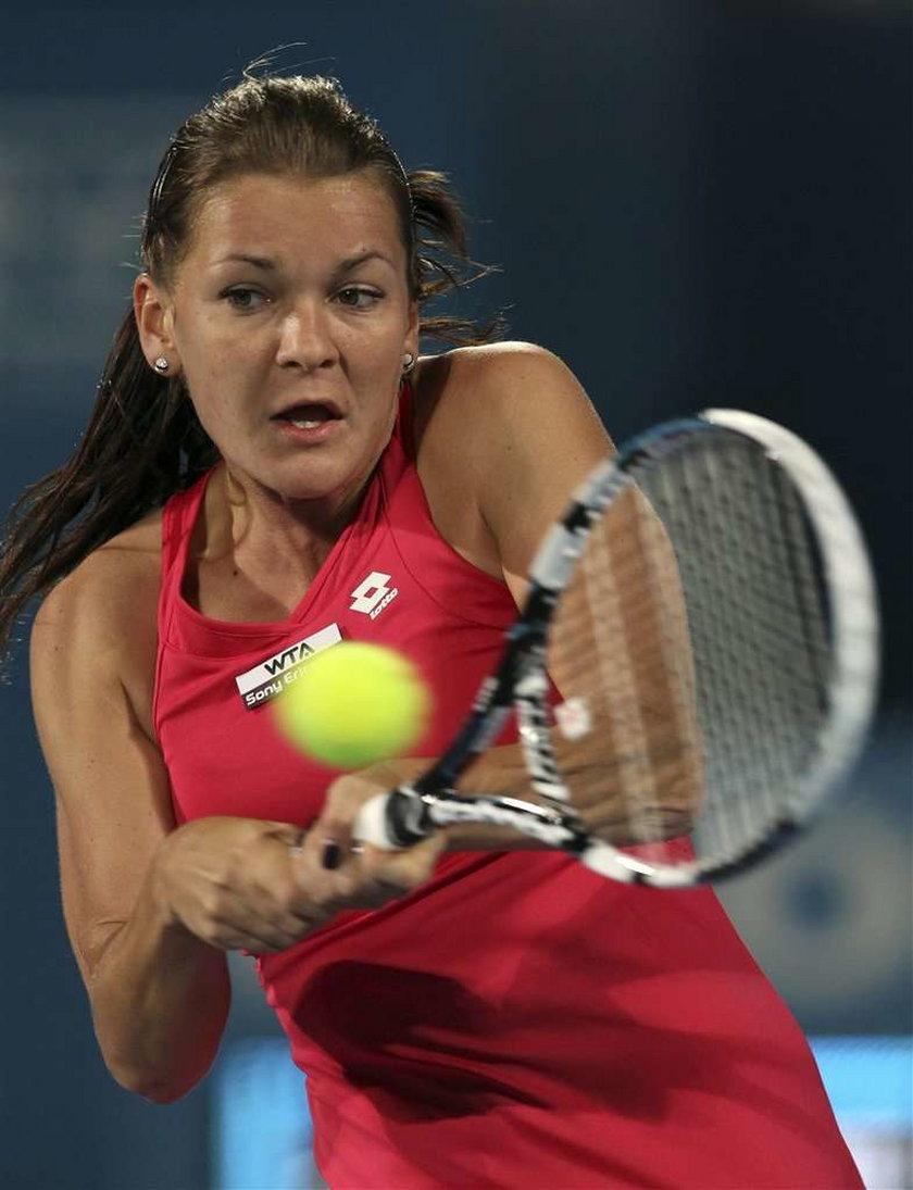 Radwańska w półfinale