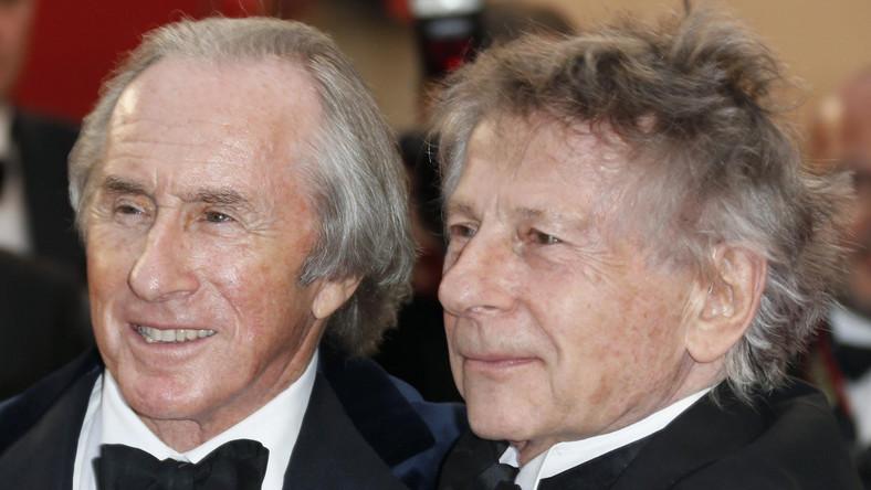 Roman Polański i Jackie Stewart w Cannes