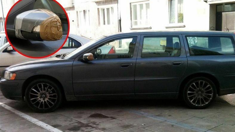 Kto zniszczył auto prezydenta Komorowskiego?