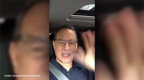 """Tom Hanks dziękuje za malucha: """"Jestem szczęściarzem"""""""