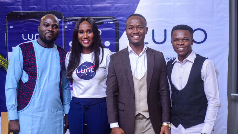 L-R: Olaleye Awe, cryptocurrency trader