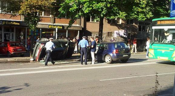 Povređena žena je prevezena u Urgentni centar