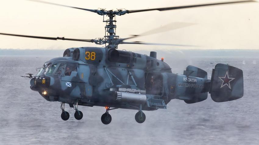 Katastrofa śmigłowca na Bałtyku. Nie żyją dwie osoby