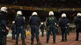 Burdy kibiców w Atenach, mecz został przerwany!
