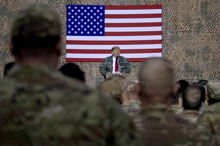 Iran Tramp vojnici Al Asad 2018 foto Tanjug AP