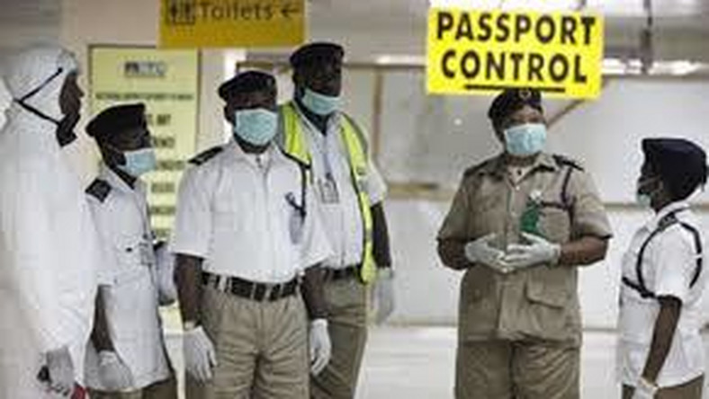 Nigeria Immigration Service say there was no official communication from the Ministry of Health or any medical body in Nigeria to inform the agency about the doctors' travel (Transport Day)