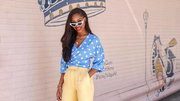 Chinyere Adogu is showing us how to rock a polka dot outfit