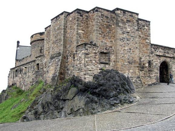 Zamak u Edinburgu gde se desila Crna večera