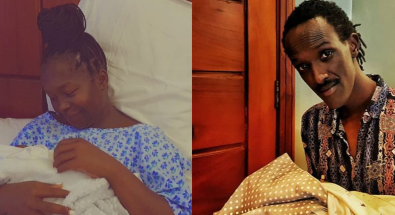 Kansiime and boyfriend welcome their son