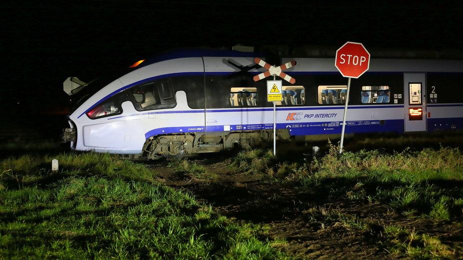 Śmiertelny wypadek z udziałem pociągu w miejscowości Garki