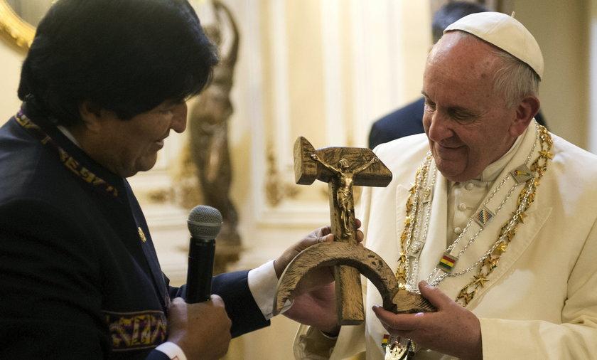 papież franciszek w boliowi