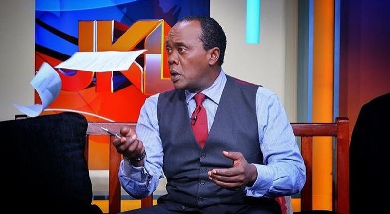 Jeff Koinange express disappointment in people doubting his Covid-19 positive status