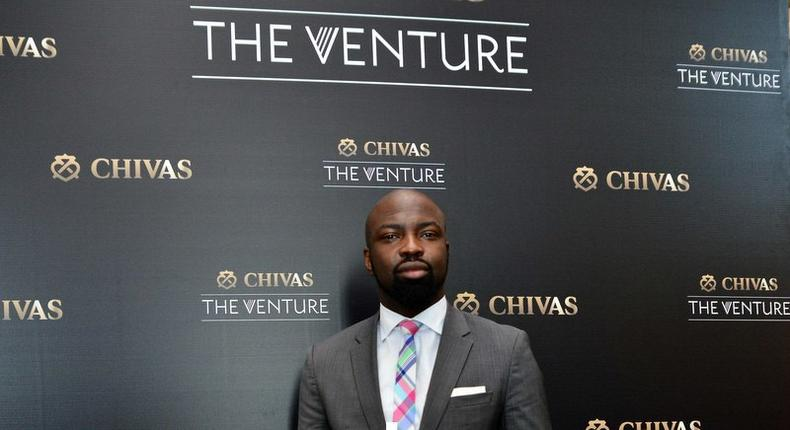 Founder and president of the Chocolate City Entertainment, Audu Maikori at Chivas The Venture press conference