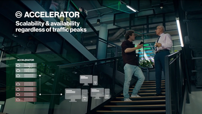 Accelerator - a solution to optimize, build and run variable services