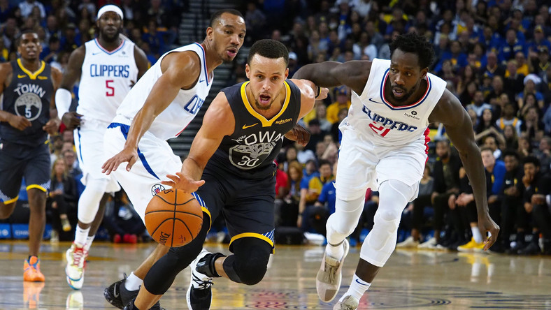 Golden State Warriors pokonali Los Angeles Clippers, dwa punkty Marcina Gortata