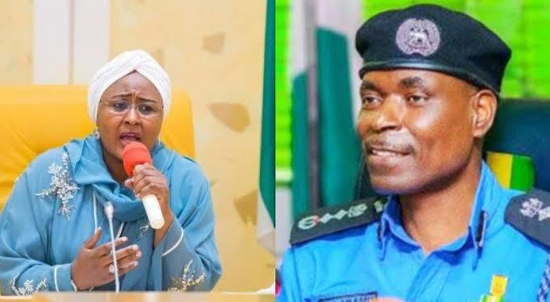Police IG ignores Aisha Buhari's outcry, refuses to release her aides