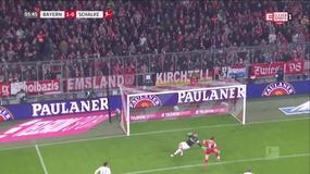 Bayern - Schalke: gol Roberta Lewandowskiego