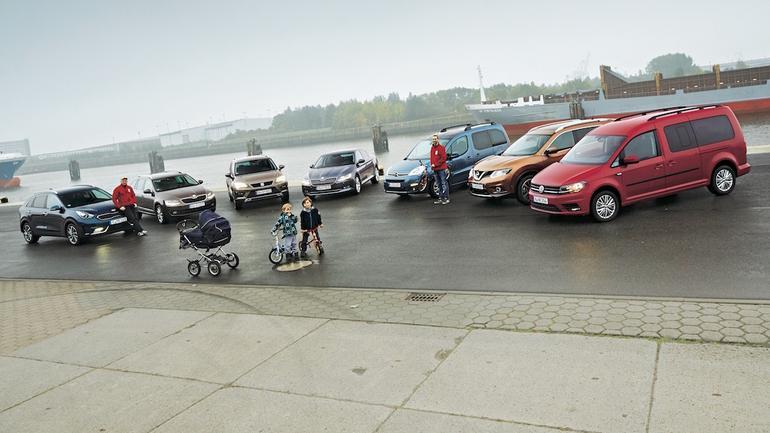 Porównanie aut rodzinnych z różnych kategorii