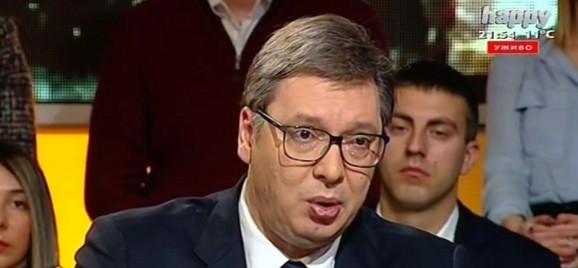 Vučić u emisiji