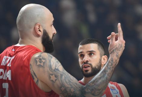 Pero Antić i Branko Lazić na derbiju