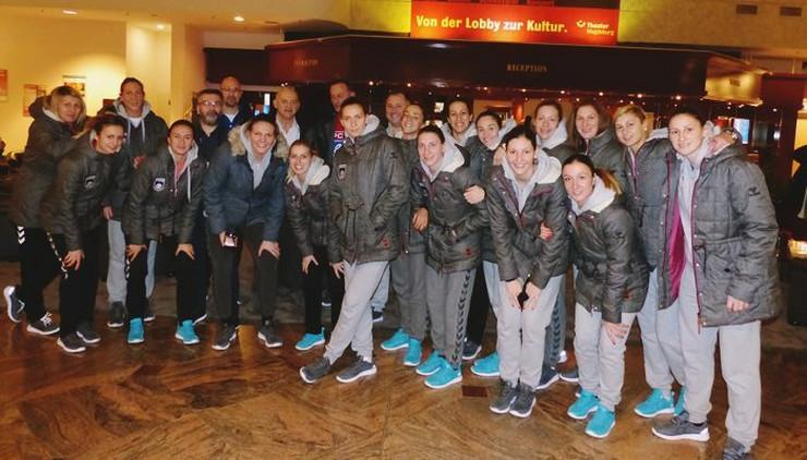 Rukometna reprezentacija Srbije stigla je u hotel u Magdeburg