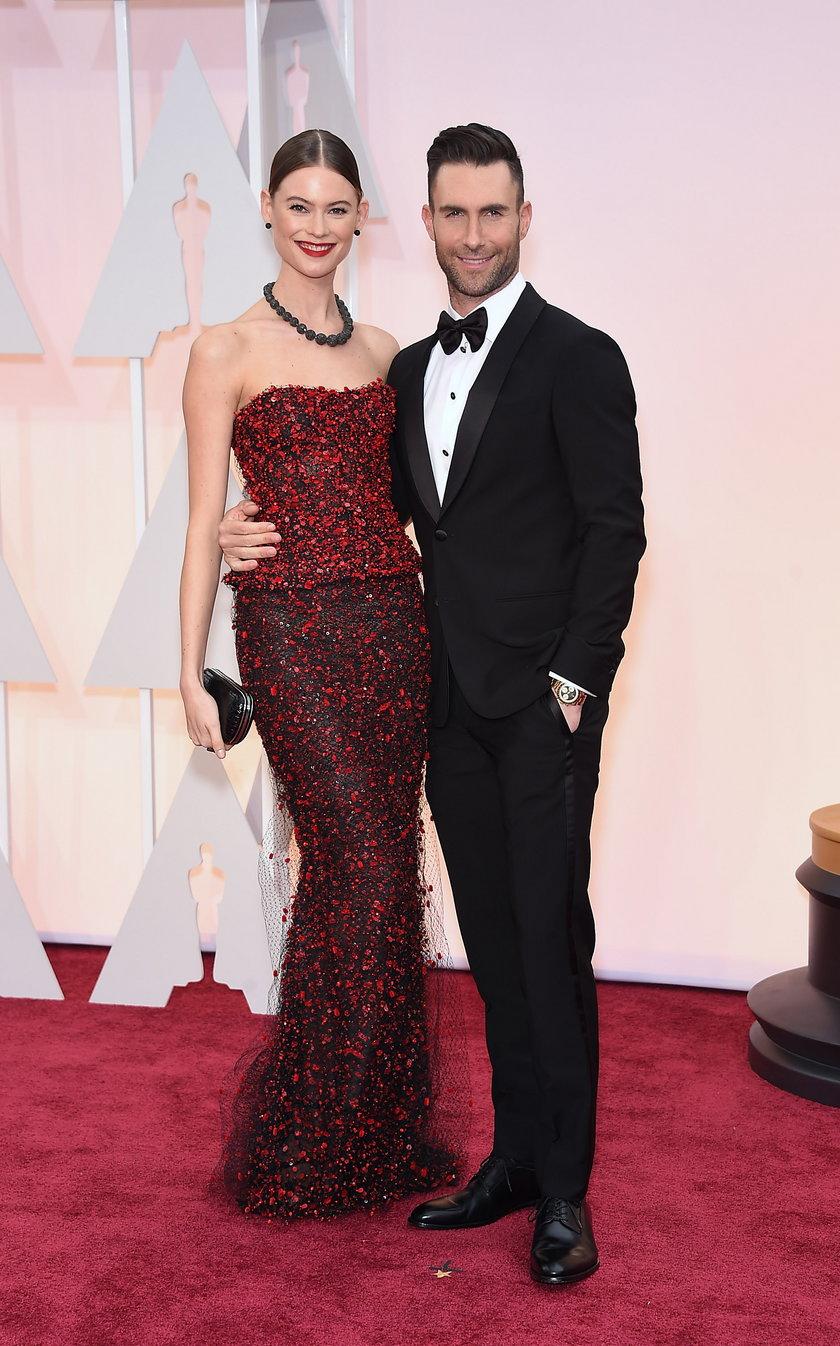 Adam Levine z żoną