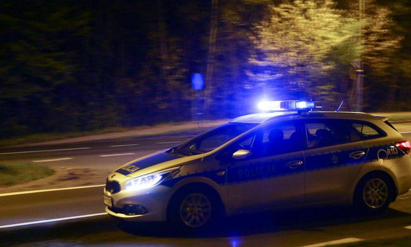 21-latek uszkodził radiowóz. Był pod wpływem narkotyków