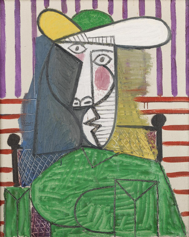 "Pablo Picasso, ""Bust of a Woman"" (1944)"