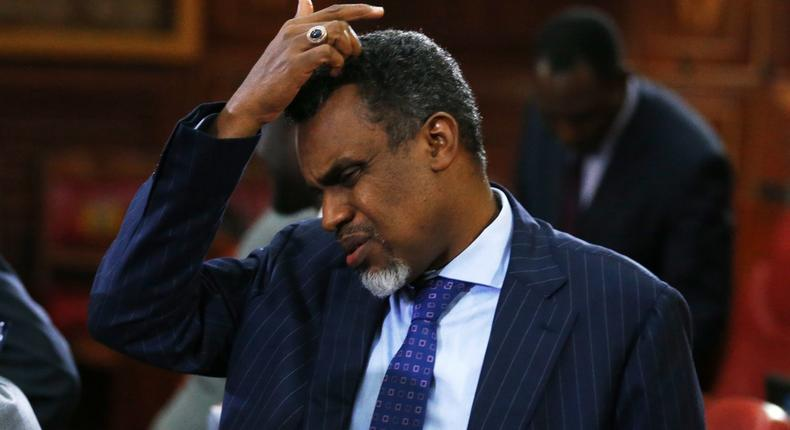 DPP Noordin Haji during a past appearance before Parliament (Twitter)