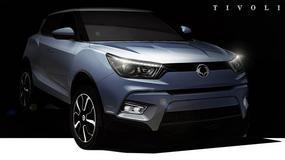 Ssangyong pokazał zdjęcia konkurenta Nissana Juke