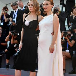 Ciężarna Natalie Portman na Festiwalu Filmowym w Wenecji