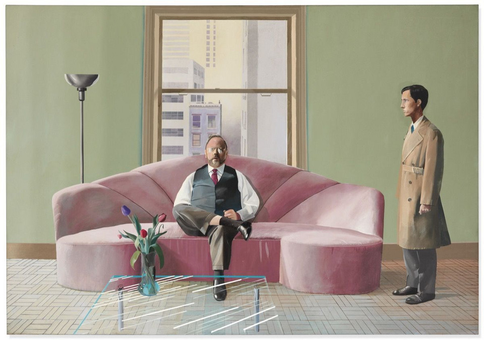 "David Hockney, ""Henry Geldzahler and Christopher Scott"" (1969) - 49 557 100 dol."