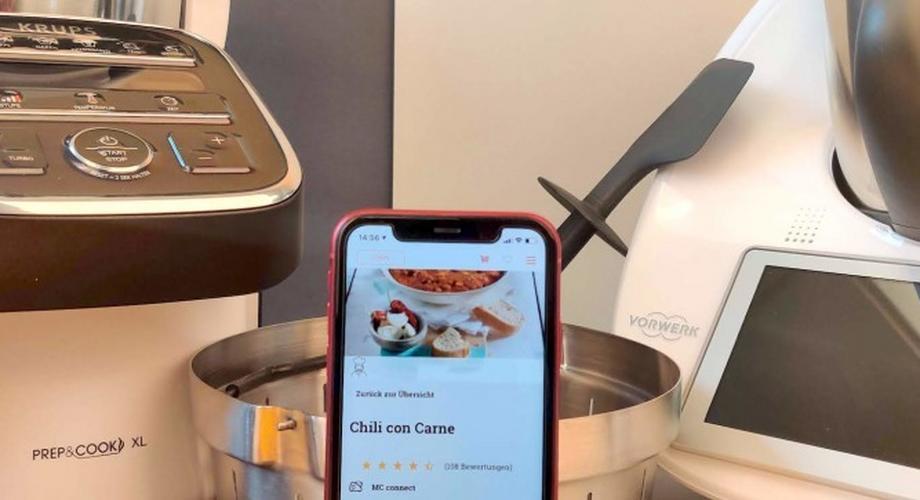 Test smarter Küchenmaschinen: Bosch, Thermomix, Krups & Co.