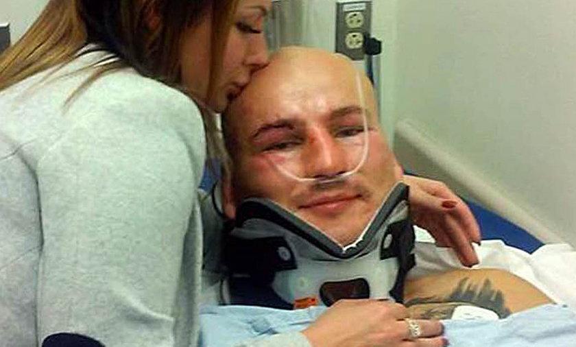 Artur Szpilka w szpitalu po walce z Deontayem WIlderem o mistrzostwo świata WBC