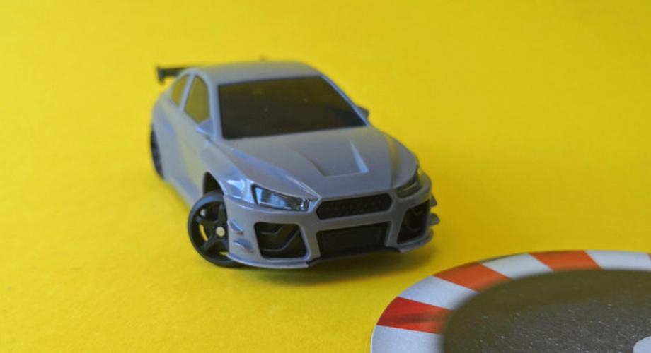 Drift-Car im Test: Modellauto mit Smartphone-Fernsteuerung