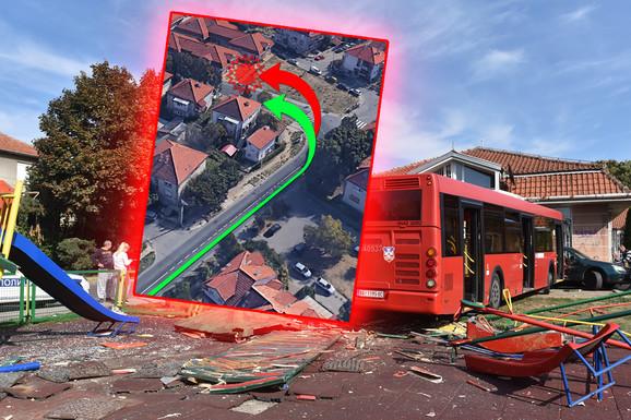 Šta je dosad poznato o stravičnoj nesreći u Zemunu: Kako je POMAHNITALI AUTOBUS SKRENUO SA TRASE, gde je vozač, kako su povređena deca