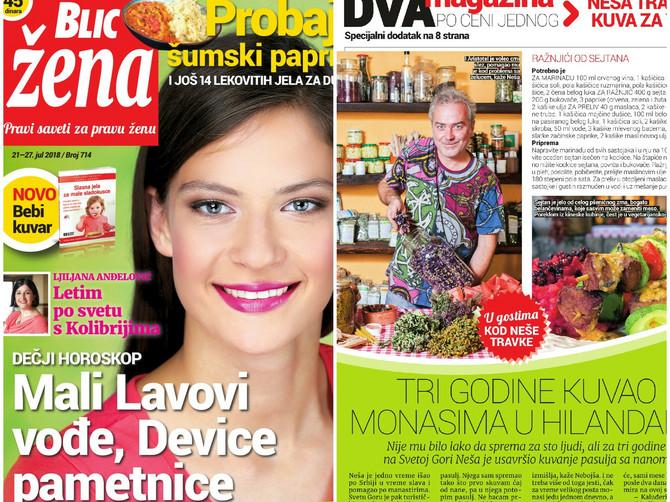 U novoj BLIC ŽENI, dva magazina po ceni jednog - SPECIJALNI DODATAK na 8 strana