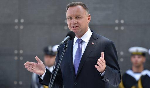 """Prezydent ostro ocenił sytuację w UE. Mówi o """"ideologicznym parciu"""". Zdradził też, co zrobi z """"Lex TVN"""""""