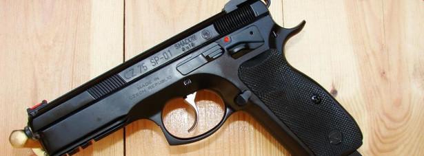 Pistolet. Fot. Andrzej Chmielewski/Newspix.pl