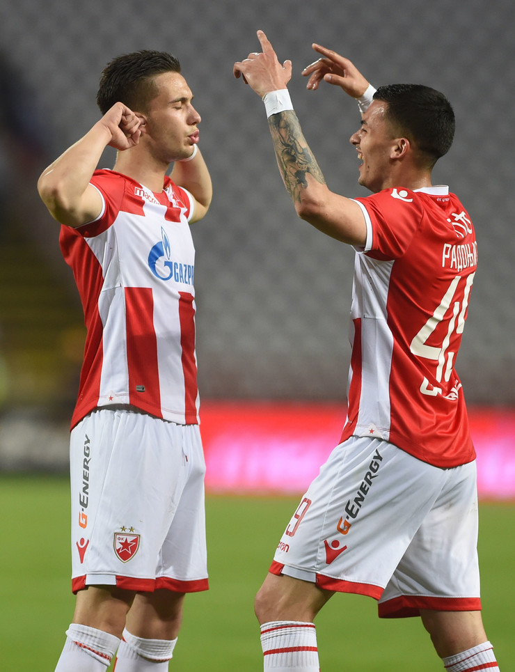 FK Crvena zvezda, Luka Adžić, Nemanja Radonjić
