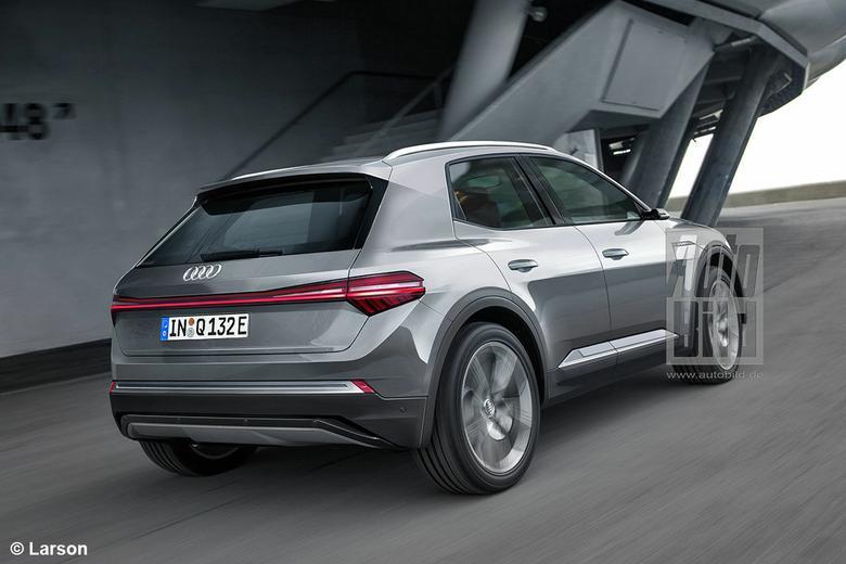 Wizualizacja Audi eQ1