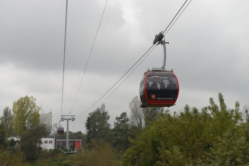 Polinka, czyli kolejka linowa we Wrocławiu