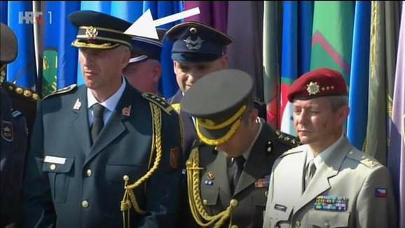 Crnogorski vojni ataše na proslavi
