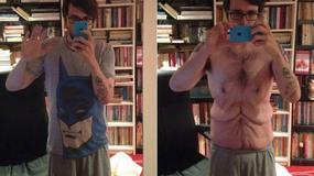 Jak wygląda męskie ciało po zrzuceniu zbędnych kilogramów?