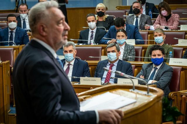 CG nova vlada skupstina 07 foto Anadolu Milos Vujovic