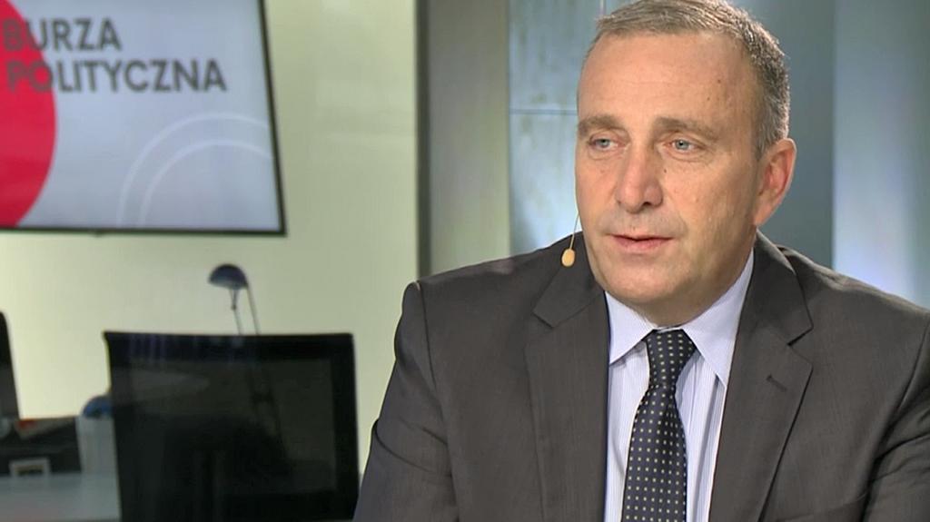 Burza polityczna. Grzegorz Schetyna