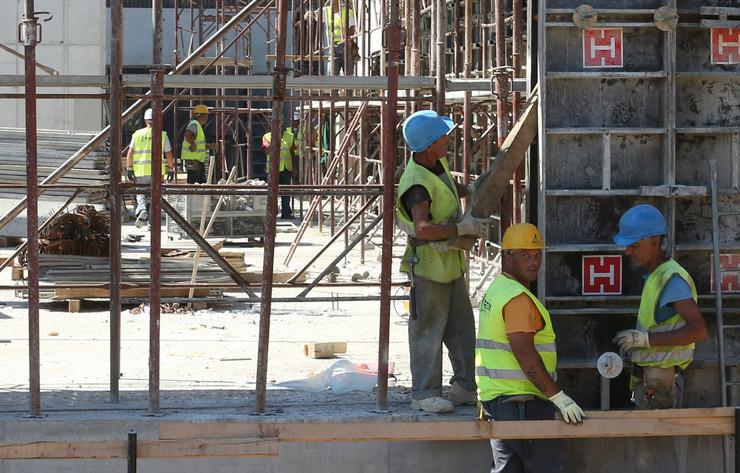 Radna snaga radnici gradjevina