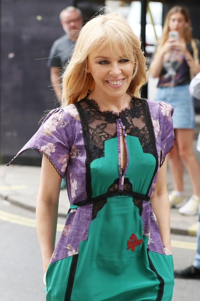 Kylie Minogue pod Magic Radio Studios